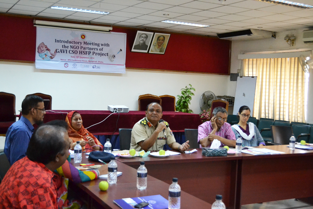 Introductory Meeting with Stakeholders and NGO partners